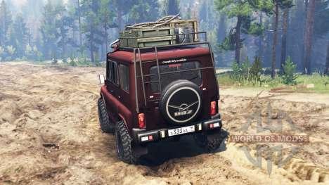 УАЗ-315195 турбо дизель для Spin Tires
