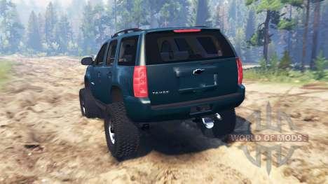 Chevrolet Tahoe 2008 для Spin Tires