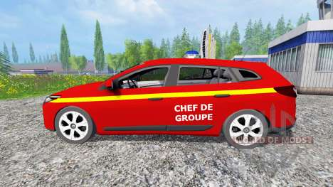 Renault Megane Estate [feuerwehr] для Farming Simulator 2015