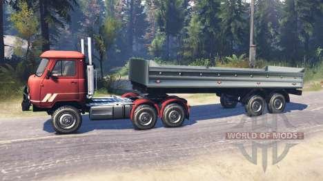 УАЗ-33036 6x6 v4.0 для Spin Tires