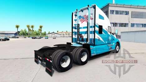 Скин Phils Transport на тягач Kenworth T680 для American Truck Simulator