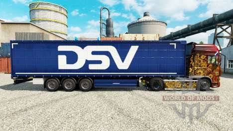 Скин DSV на полуприцепы для Euro Truck Simulator 2