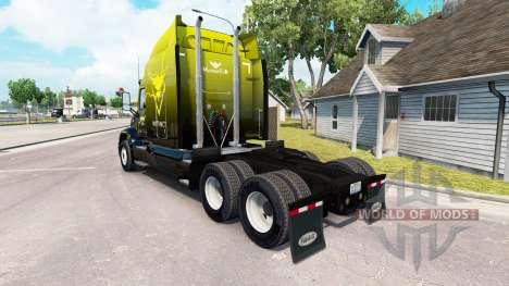 Скин Instinct на тягач Peterbilt 579 для American Truck Simulator