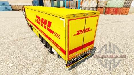 Скин DHL v4 на полуприцепы для Euro Truck Simulator 2