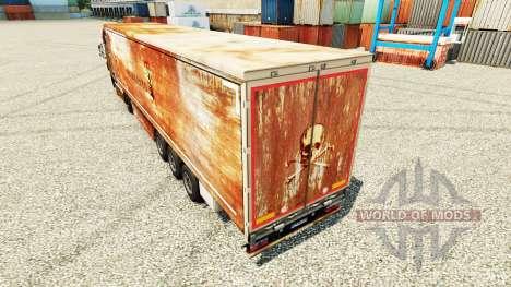 Скин Monsanto на полуприцепы для Euro Truck Simulator 2