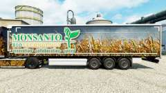 Скин Monsanto Bio на полуприцепы для Euro Truck Simulator 2