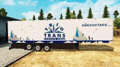 Полуприцеп-рефрижератор Schmitz Trio Trans для Euro Truck Simulator 2