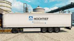 Скин Hochtief на полуприцепы для Euro Truck Simulator 2