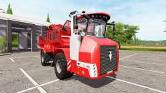 HOLMER Terra Variant 600 eco [pack] v2.5 для Farming Simulator 2017