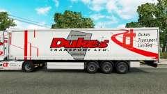 Скин Dukes Transport на полуприцепы для Euro Truck Simulator 2