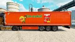 Скин Kinder Em-eukal на полуприцепы для Euro Truck Simulator 2