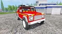 Land Rover Defender 110 [feuerwehr]