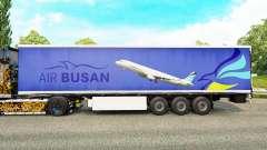 Скин Air Busan на полуприцепы для Euro Truck Simulator 2