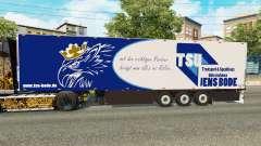 Полуприцеп-рефрижератор Schmitz Jens Bode для Euro Truck Simulator 2