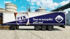 Скин Fix Hellas на полуприцепы для Euro Truck Simulator 2