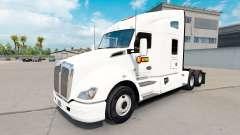 Скин Estes Express daycab на тягач Kenworth T680 для American Truck Simulator