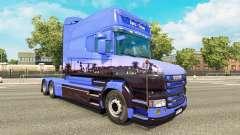 Скин Euro Trans на тягач Scania T для Euro Truck Simulator 2