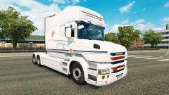 Скин Transalliance на тягач Scania T для Euro Truck Simulator 2