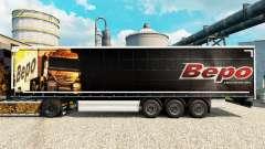 Скин Bepo на полуприцепы для Euro Truck Simulator 2