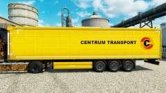 Скин Centrum Transport на полуприцепы для Euro Truck Simulator 2