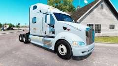 Скин K&J на тягач Peterbilt 387 для American Truck Simulator