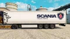 Скин Scania Truck Parts на полуприцепы для Euro Truck Simulator 2