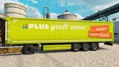 Скин PLUS на полуприцепы для Euro Truck Simulator 2