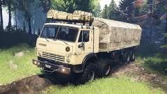 КамАЗ-63501-996 Мустанг v5.0 для Spin Tires