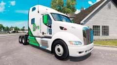Скин DFS на тягач Peterbilt 387 для American Truck Simulator