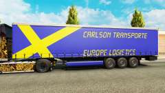 Скин Carlson Transporte на полуприцепы для Euro Truck Simulator 2
