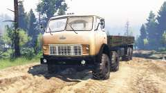 МАЗ-515Р 8x8 v2.0 для Spin Tires