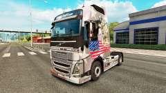 Скин U.S. Army на тягач Volvo для Euro Truck Simulator 2