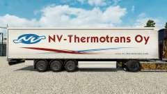 Скин NV-Thermotrans Oy на шторный полуприцеп для Euro Truck Simulator 2