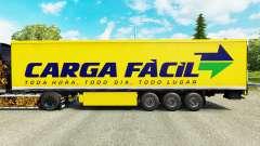 Скин Carga Facil на полуприцепы для Euro Truck Simulator 2