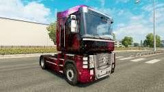 Скин Weltall на тягач Renault Magnum для Euro Truck Simulator 2