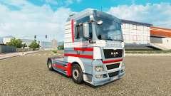 Скин A.Ebner на тягач MAN для Euro Truck Simulator 2