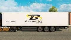 Скин TB Transportes на полуприцепы для Euro Truck Simulator 2