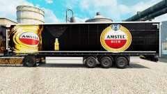 Скин Amstel на полуприцепы для Euro Truck Simulator 2