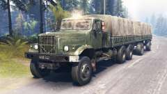 КрАЗ-255 магистральный для Spin Tires