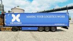 Скин Wim Bosman на полуприцепы для Euro Truck Simulator 2