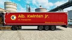 Скин Alb. Kwlnten Jr. на полуприцепы для Euro Truck Simulator 2