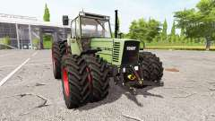 Fendt Farmer 312 LSA Turbomatik v1.0.0.3 для Farming Simulator 2017