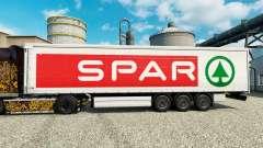 Скин SPAR на полуприцепы для Euro Truck Simulator 2