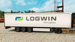 Скин Logwin на полуприцепы для Euro Truck Simulator 2