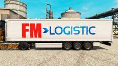 Скин FM Logistic на полуприцепы для Euro Truck Simulator 2