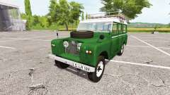 Land Rover Series IIa Station Wagon 1965 v2.0 для Farming Simulator 2017