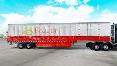 Скин Beazer Homes на шторный полуприцеп для American Truck Simulator