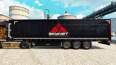 Скин Skynet на полуприцепы для Euro Truck Simulator 2