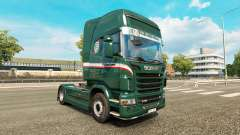 Скин Wallenborn на тягач Scania для Euro Truck Simulator 2