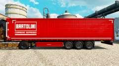 Скин Bartolini на полуприцепы для Euro Truck Simulator 2
